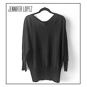 🌹 Jennifer Lopez Bronze Sparkle Sweater  NWOT